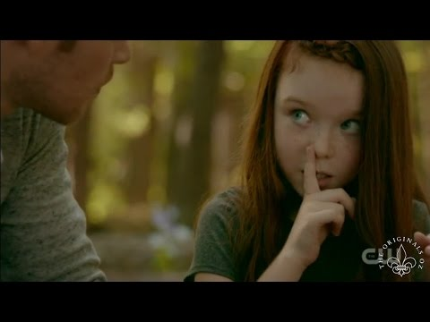 "The Originals 4x03 Hope shows Klaus her power ""shh don't tell my mum"""