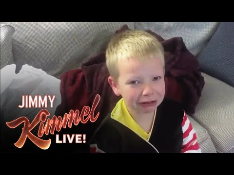 kid - Jimmy Kimmel Live - YouTube Challenge - I Told My Kid I Ate All Their Halloween Candy Again Jimmy Kimmel Live: Back to Brooklyn -- YouTube Challenge - I Told...