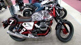 8. 2013 Moto Guzzi V7 Racer - Walkaround - 2013 Quebec Motorcycle Show