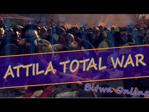 Attila Total War Bitwa Online 1v1