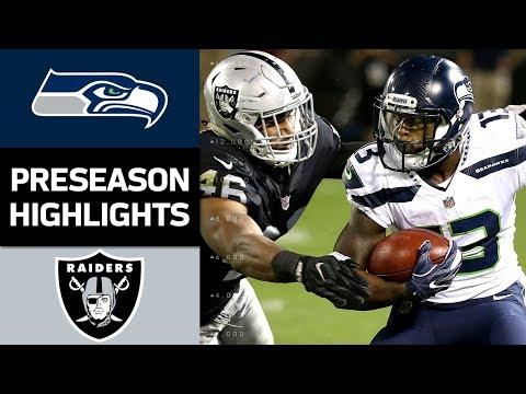 Seahawks vs. Raiders | NFL Preseason Week 4 Game Highlights - Thời lượng: 5:10.