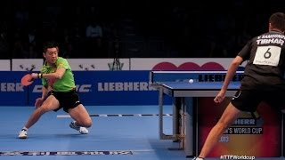 Table Tennis Highlights, Video - Men´s World Cup 2013 Highlights: Xu Xin vs Vladimir Samsonov (Final)