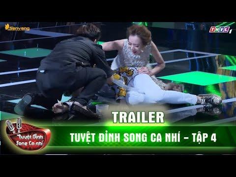 Thu Trang, Đại Nghĩa, Dương Triệu Vũ 'náo loạn' sân khấu Tuyệt đỉnh song ca nhí tập 4