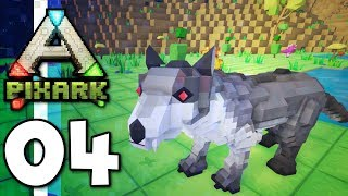 PixARK • Rescuing The Derps! Coyote Tame! (Ep.04)