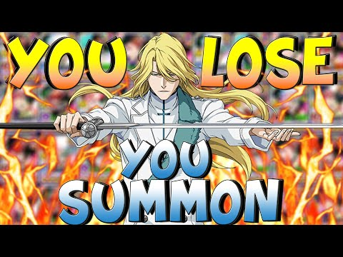 YOU LOSE, YOU SUMMON (JUGRAM EDITION) W/EPIC ENDING🔥 | Bleach Brave Souls PVP