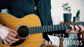 Video The beauty of Sus2/Sus4 and  Barre Chords! (Music theory ep. 4) MP3, 3GP, MP4, WEBM, AVI, FLV Juni 2018