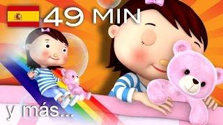 Canciones para dormir  Y muchas más canciones infantiles  �49 min de LittleBabyBum