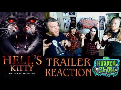 """Hell's Kitty"" 2018 Horror Movie Trailer Reaction - The Horror Show"