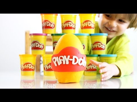 surprise - Yeah - we have today Big Play-Doh Surprise Egg !!! Sammie watched a few times on Youtube some guys finding some surprises in Play-Doh so I wanted to surprise...