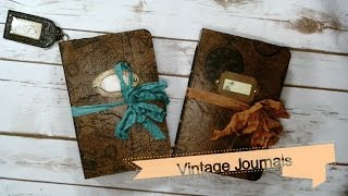 Hello everyone! Today I wanted to share a couple of vintage journals I made. I really like this journal cover method because it gives you the chance to use the neat tissue paper and napkins you've collected or swapped. If you'd like me to make a tutorial on this type of cover let me know! I hope you're all doing well. 😄 Where you can Find me! Email: marsw23@gmail.comOn Instagram!https://www.instagram.com/saysomethingcrafty/?hl=enCheck out my Etsy Shop, Where you can purchase my handmade books and journals! https://www.etsy.com/shop/SaySomethingCrafty?ref=hdr_shop_menuDon't forget to follow me on my blog! http://marinawilson.blogspot.com/2016...Follow Me on Pinterest:https://www.pinterest.com/Marsmom23/Make Sure to Check out the JJJ Blog!http://junkjournaljunkies.blogspot.co...