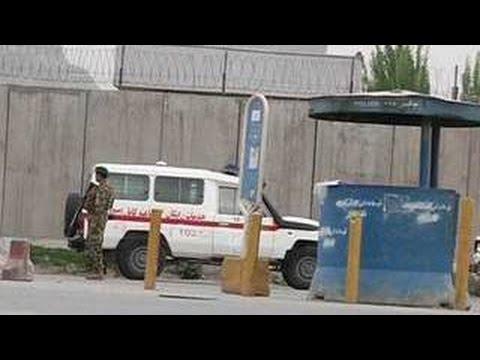 В Кабуле взорвался автомобиль