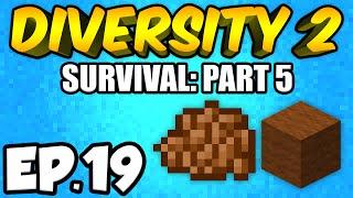 Minecraft: Diversity 2 Ep.19 - EXPLORING A CAVE!!! (Diversity 2 Survival)