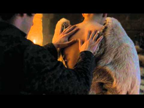 Game of Thrones - Sansa Stark bed scene with original soundtrack