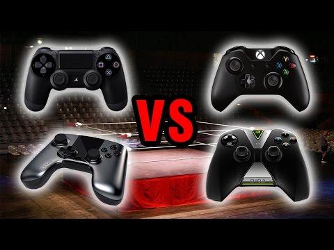GAMEPAD A CONFRONTO: PS4 VS XBOX ONE VS SHIELD VS OUYA