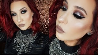 Halo Smokey Eye with Glitter Liner  | Jaclyn Hill by Jaclyn Hill
