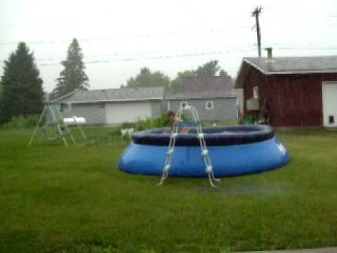 Stay cool, Swim in a pool???