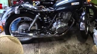 7. ヤマハSR400 レストア No8 ついにエンジン始動  Yamaha SR400 restore No8 An engine starts at last.