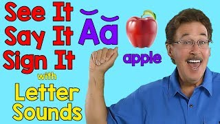 Video See It, Say It, Sign It | Letter Sounds | ASL Alphabet MP3, 3GP, MP4, WEBM, AVI, FLV September 2019