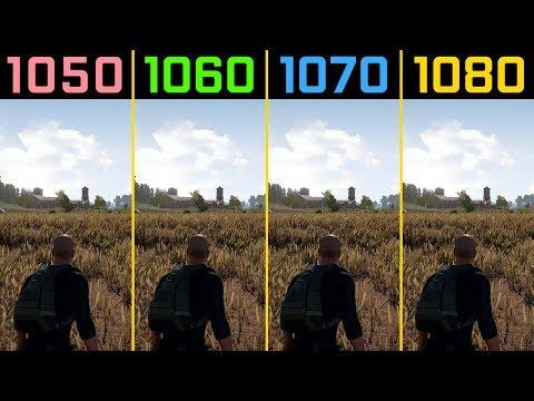 顯卡 GTX 1050 1060 1070 1080 的差別 看這FPS 就想要頂配了