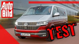 VW T6.1 Multivan (2019): Test - Bus - Bulli - Facelift by Auto Bild