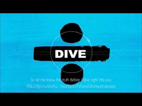 Ed Sheeran - Dive [แปลไทยเพลงสากล] (видео)