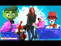 TOY HUNT @ Toys R Us New TEEN TITANS GO! and PAW PATROL + Lego Batman Movie Surprises ToysReview