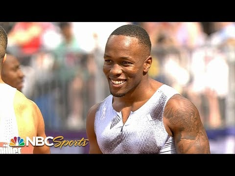 2019 Diamond League: Akani Simbine wins men's 100m | NBC Sports