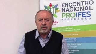 Depoimento de Hugo Yaski - Presidente da Internacional da Educação para a América Latina IEAL