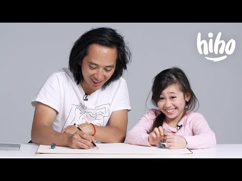 Kids Describe Their Parents to an Illustrator
