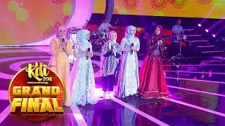 Video Duet Syantik! Ikke Nurjanah, Sabyan, Cut, Putri Dan Nida [YA MAULANA] - Grand Final KDI (2/10) MP3, 3GP, MP4, WEBM, AVI, FLV November 2018