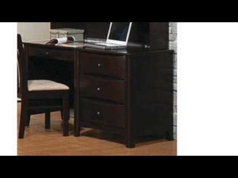 Video Newest video of the Computer Desk Contemporary Style In Cappuccino