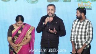 Saranya and Ponvannan at Saivam Audio Launch