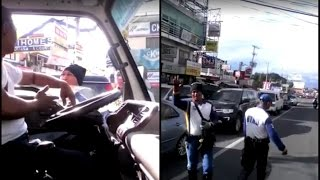 Video TRENDING | TRUCK DRIVER, KINURYENTE UMANO NG TRAFFIC ENFORCER MP3, 3GP, MP4, WEBM, AVI, FLV September 2018
