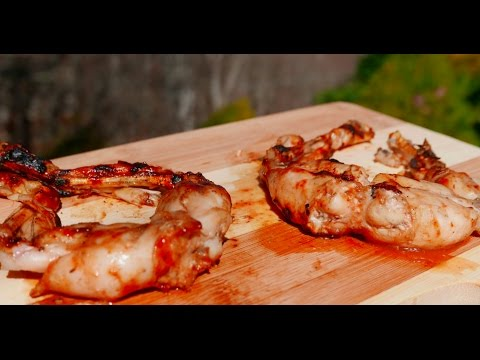 Grilled Frog Legs Recipe and Taste Test