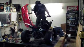 7. Honda TRX 700 XX making a Dyno Run