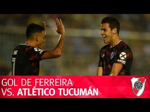 Gol de Cristian Ferreira vs. Atlético Tucumán