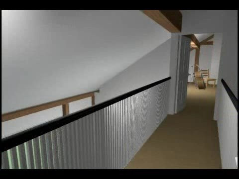 Post and Beam – Greek Revival – 3D Virtual Walkthrough – Yankee Barn Homes