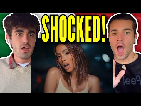 ITALIANS React 🇮🇹 Anitta - Faking Love (feat. Saweetie) [Official Music Video]