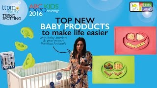 Top New Baby Products to Make Life Easy-TTPM & Designer Vanessa Antonelli-ABC Kids Expo October 2016