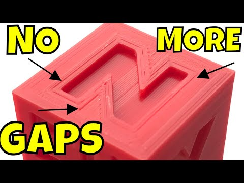 Cura 4.8 Slicer Tips for Eliminating Gaps in your 3D Prints