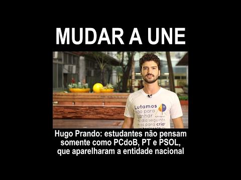 Hugo Prando: UNE sem controle do PT, PCdoB e PSOL