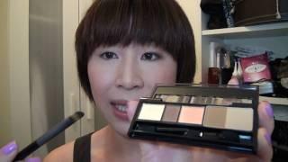 Makeup Secret夏日啡 Tone 淡妝~ KATE 眼影化妝示範
