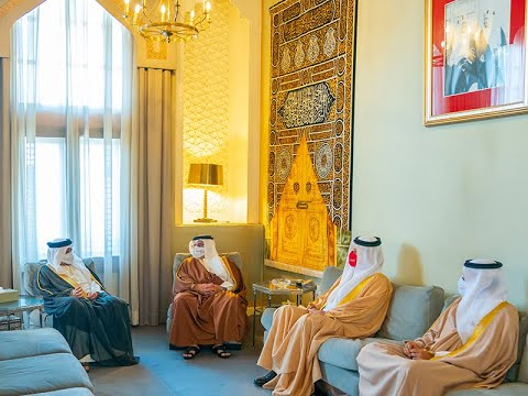 HRH the Deputy King receives the 2020-2021 NAO Annual Report