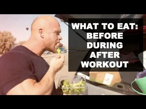 Ben Pakulski What to Eat Before, During, After Workout