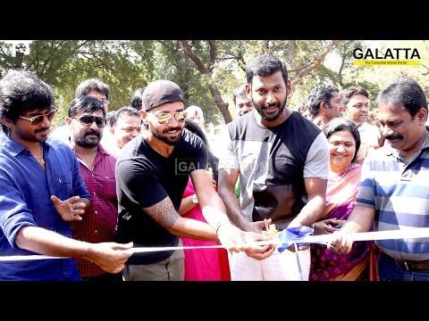 Vishal-and-Murali-Vijay-inaugurate-Kreeda-Sports-Foundation-09-03-2016