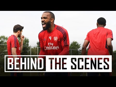 Arsenal Continue Pre-season Training Ahead Of USA Tour | Behind The Scenes
