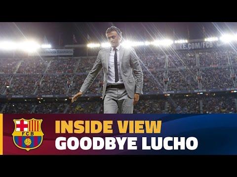 العرب اليوم - وداع جماهير برشلونة للمدرب لويس انريكي