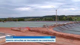 Marília constrói estações de tratamento de esgoto e espera tratar 100% dos rejeitos a partir de 2022