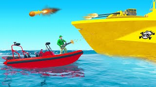 *NEW* MEGA BOMBER BOAT DLC! (GTA Funny Moments)