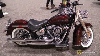 7. 2018 Harley Davidson Softail Deluxe - Walkaround - 2018 Toronto Motorcycle Show
